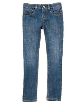 Girls Denim Skinny Jeans by Gymboree