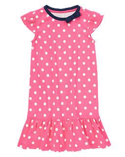 Bow Dot Twirly Dress