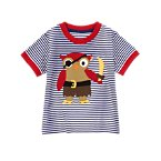 Pirate Owl Stripe Tee