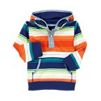 Hooded Stripe Active Top