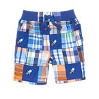 Rocket Patchwork Shorts