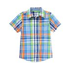 Short Sleeve Plaid Shirt