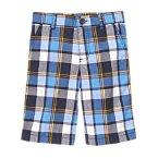 Blue Plaid Short