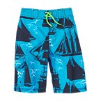 Pirate Ship Board Shorts