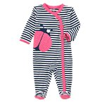 Ladybug Striped One Piece