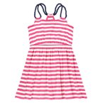 Striped Rope Strap Dress