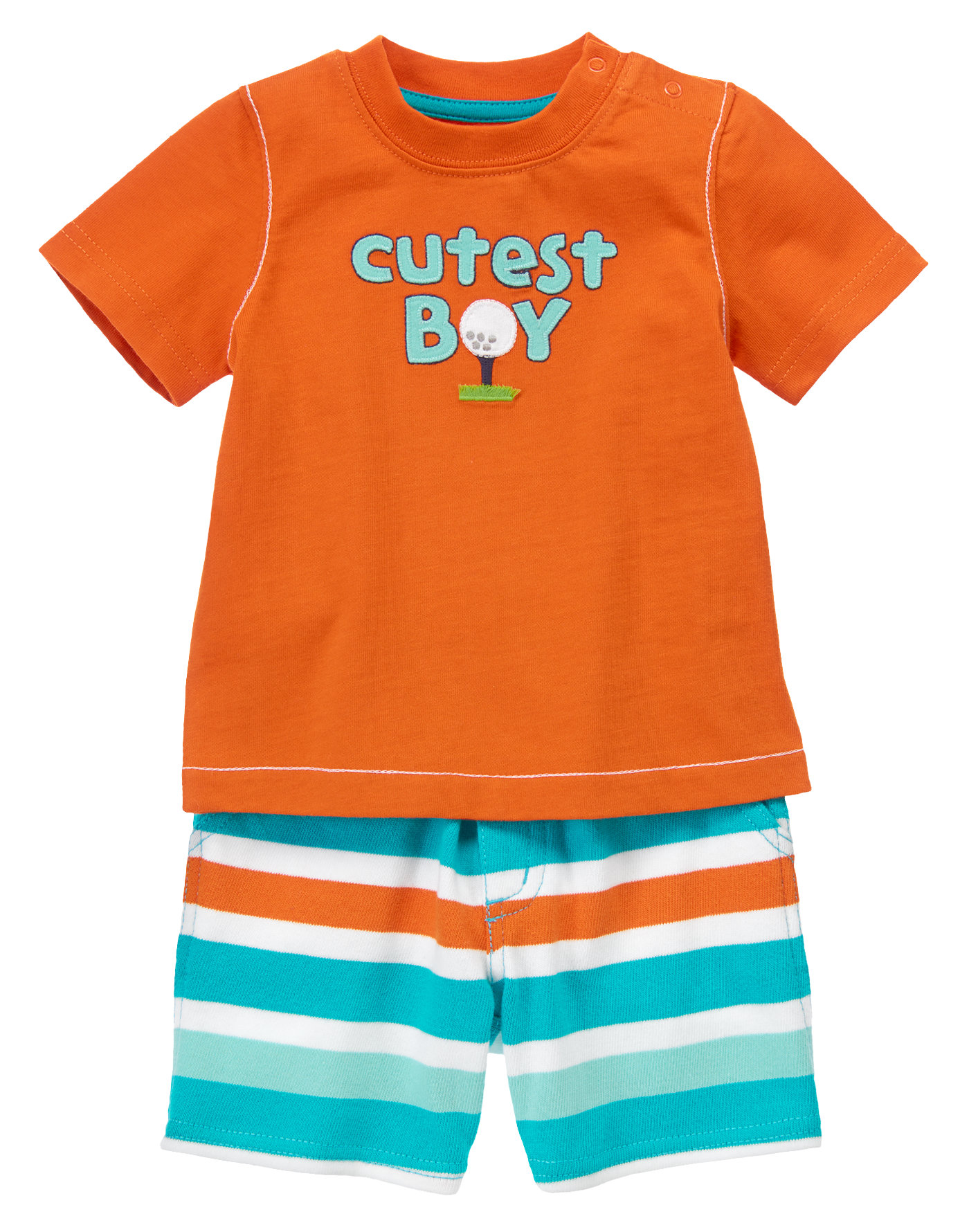 Cutest Boy Two-Piece Set