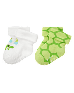 Sweet Turtle Socks Two-Pack