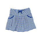 Nautical Stripe Bow Skort