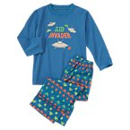 Sleep Invader Two-Piece Pajama Set