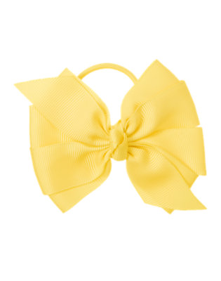 Sunny Day Grosgrain Bow Pony Holder by Gymboree