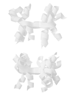 Toddler Girls Ivory Curly Hair Clip Two-Pack by Gymboree