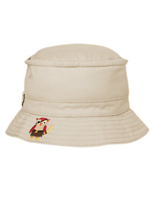 Toddler Boys Khaki Pirate Animal Gang Hat by Gymboree