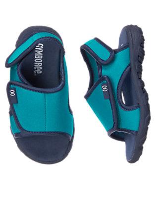 Ocean Blue Water Sandal by Gymboree