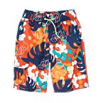 Tropical Leaves Board Shorts