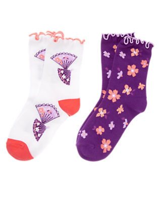 Cherry Blossom Cherry Blossom Socks Two-Pack by Gymboree