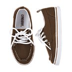Lace-up Canvas Boat Shoe