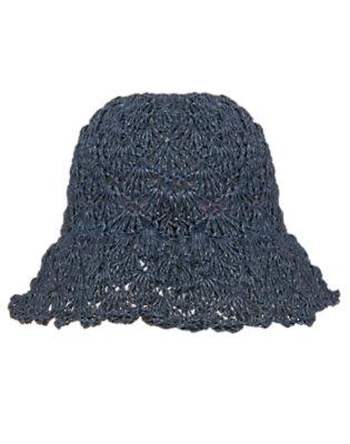 Girls Indigo Splash Crochet Hat by Gymboree