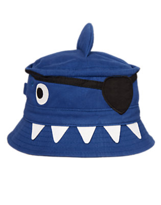 Toddler Boys Deep Blue Sea Pirate Shark Hat by Gymboree