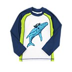 Pirate Whale Rash Guard