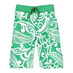 Tropical Green Board Short