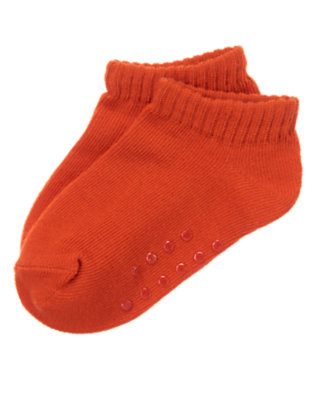 Toddler Boys Road Sign Red Ankle Socks by Gymboree
