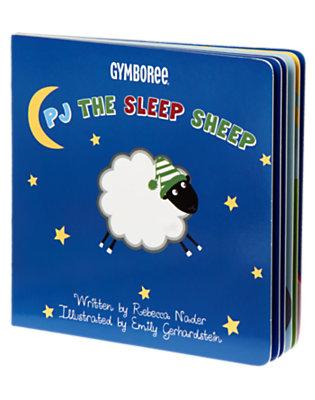 Blue PJ The Sleep Sheep Storybook by Gymboree