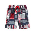 U.S.A. Patchwork Shorts