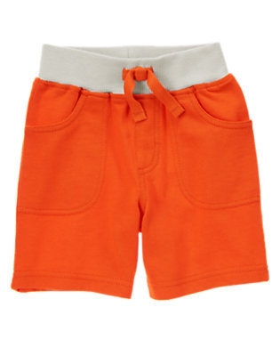 Toddler Boys Rustic Orange Pull-On Shorts by Gymboree