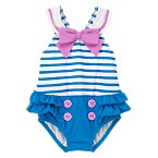 Sailor Striped Swimsuit
