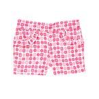 Geo Print Ruffle Shorts