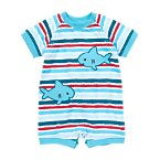 Shark Striped One-Piece