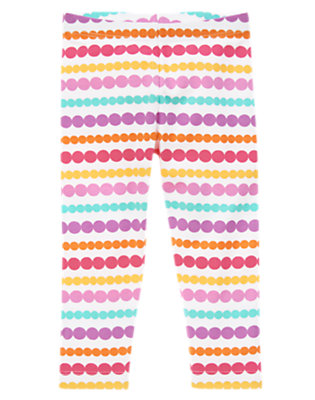 Toddler Girls Bright Dots Birthday Dots Leggings by Gymboree