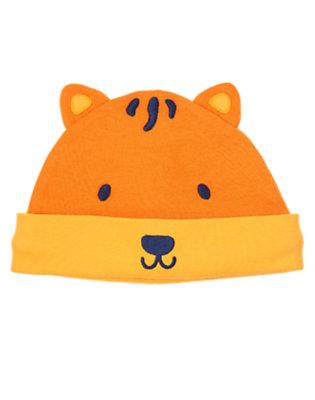 Baby Orange Cub Tiger Beanie by Gymboree