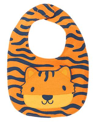 Baby Orange Cub Tiger Bib by Gymboree