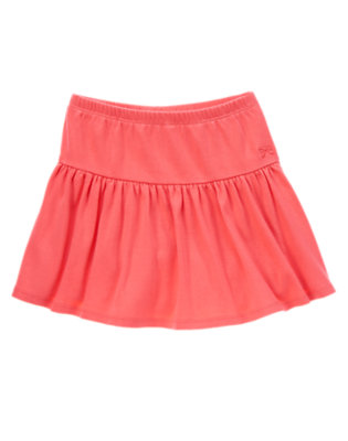 Girls Fruity Fuchsia Solid Skort by Gymboree