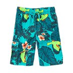 Jungle Parrot Swim Trunks