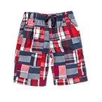 U.S.A. Patchwork Shorts