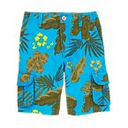 Tropical Ripstop Cargo Shorts