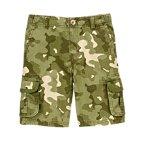 Camo Ripstop Cargo Shorts