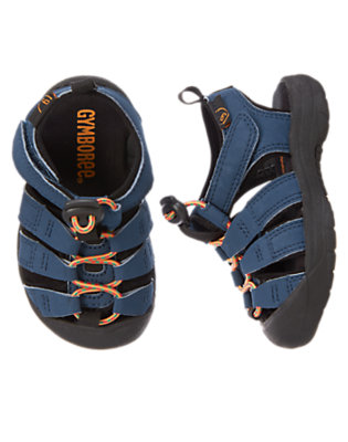 Toddler Boys Marine Navy Trail Sandals by Gymboree
