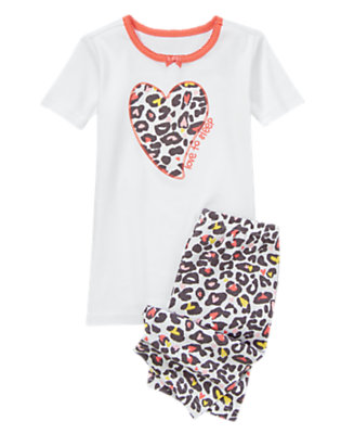 Cheetah Print Love to Sleep Shortie Two-Piece Gymmies® by Gymboree