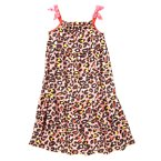 Cheetah Print Pajama Gown