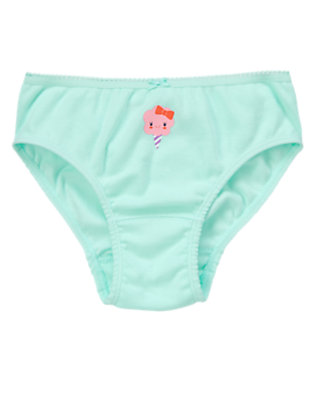 Toddler Girls Soft Blue Cotton Candy Panty by Gymboree