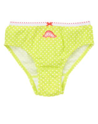 Toddler Girls Neon Cactus Dot Dot Cutiesaurus Panty by Gymboree