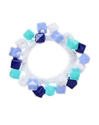 Girls Jewel Tones Geo Bead Bracelet by Gymboree