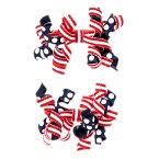 Patriotic Curly Hair Clip Two-Pack