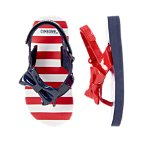 Patriotic Bow Flip Flops