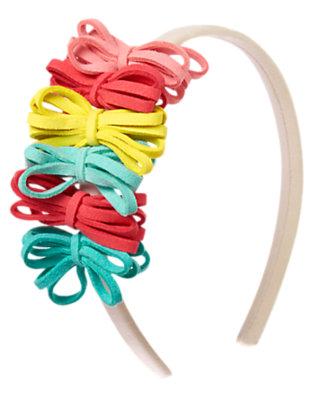 Girls Sand Fringe Headband by Gymboree