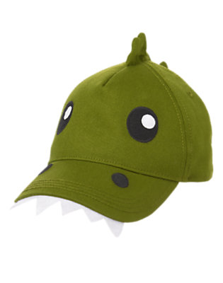 Toddler Boys Dino Green Dino Hat by Gymboree